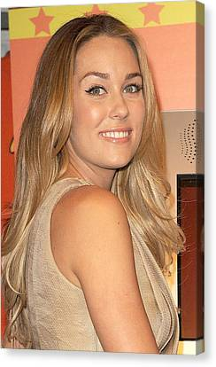 Lauren Conrad At A Public Appearance Canvas Print by Everett