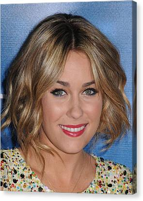 Lauren Conrad At Arrivals For Mtv Hosts Canvas Print by Everett