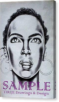 Lauren Hill Canvas Print by Rick Hill