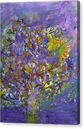 Lavender Memories Canvas Print by Anne-Elizabeth Whiteway