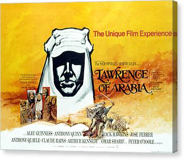 Lawrence Of Arabia, 1962 Canvas Print by Everett
