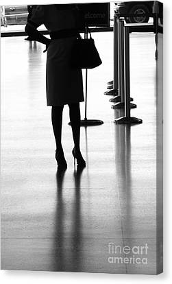 Leaving On A Jet Plane Canvas Print by Rene Triay Photography