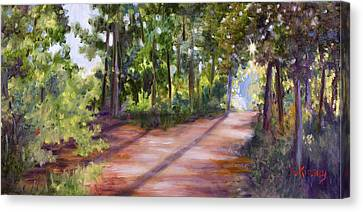 Left Or Right Canvas Print by Sheila Kinsey