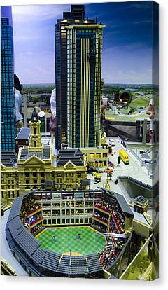 Legoland Dallas I Canvas Print by Ricky Barnard