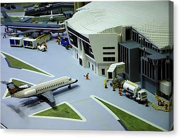 Legoland Dallas IIi Canvas Print by Ricky Barnard