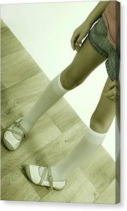 Legs Of A Girl Canvas Print by Joana Kruse