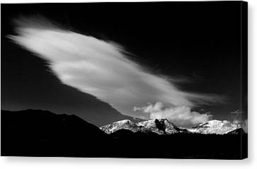 Let There Be Light.. Canvas Print by Al  Swasey