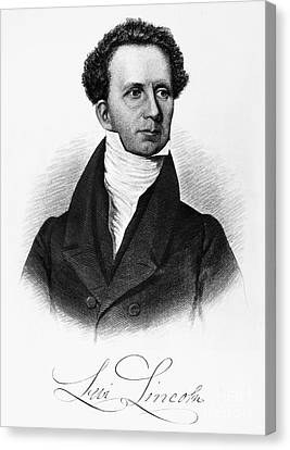 Levi Lincoln (1749-1820) Canvas Print by Granger
