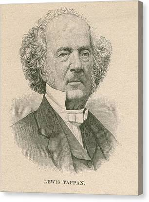 Lewis Tappan 1788-1873, Wealthy Canvas Print by Everett