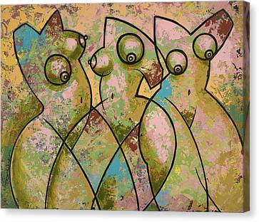Liberation 4 Canvas Print by Larry Poncho Brown