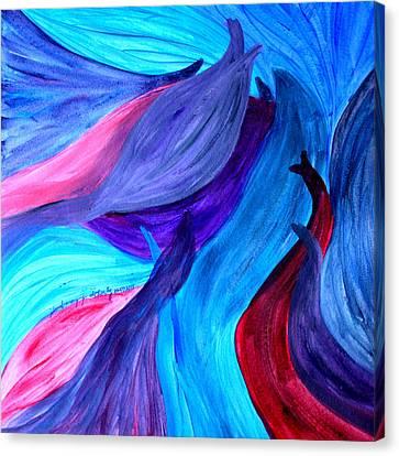 Liberation Canvas Print by Ilma Barayuga Doherty