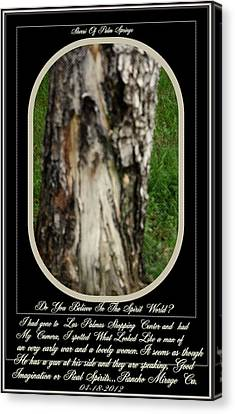 Life After Death..amazing Image Canvas Print by Sherri  Of Palm Springs