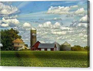 Light After The Storm Canvas Print by Bill Tiepelman