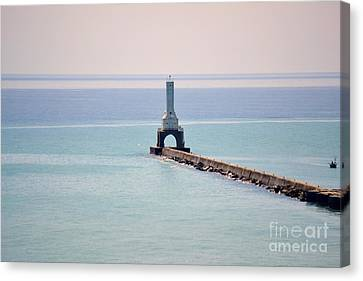 Light House Canvas Print by Dyana Rzentkowski