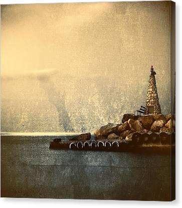 Lighthouse Canvas Print by Stelios Kleanthous