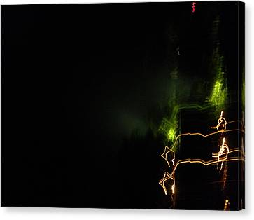Lights  Canvas Print by Rosvin Des Bouillons