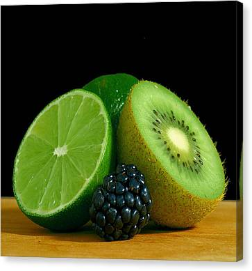 Lime It Up Canvas Print by Davor Sintic