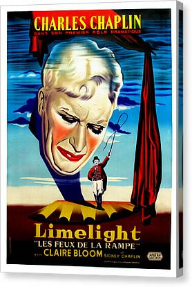 Limelight Aka Limelight Les Feux De La Canvas Print by Everett