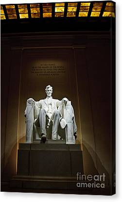 Lincoln Canvas Print by Jim Chamberlain