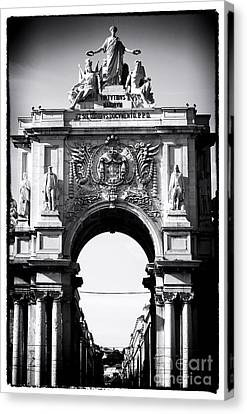 Lisbon Welcome Canvas Print by John Rizzuto