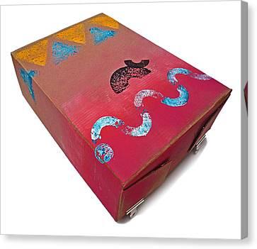 Little Big Horn Box Canvas Print by Charles Stuart