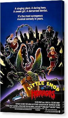 Little Shop Of Horrors, Rick Moranis Canvas Print by Everett
