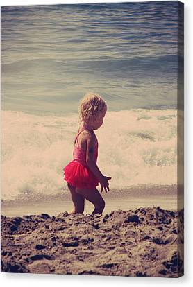Little Tutu Canvas Print by Laurie Search