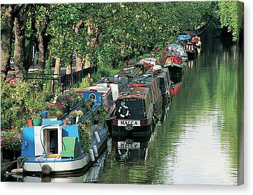 Little Venice, London, England Canvas Print by Keith Mcgregor
