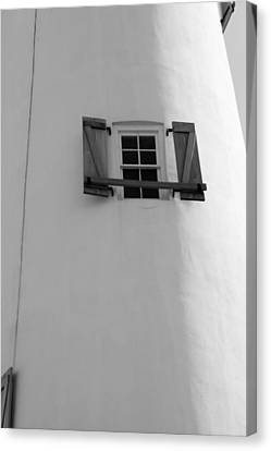 Little Window To The Ocean Canvas Print by Toni Hopper