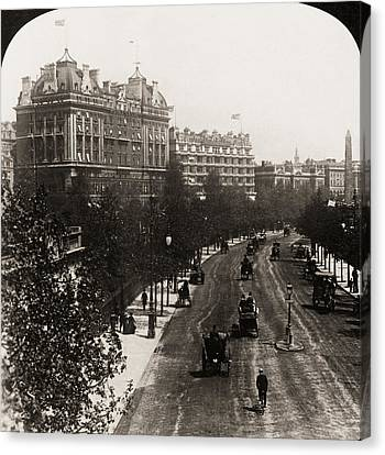 London: Embankment, 1908 Canvas Print by Granger