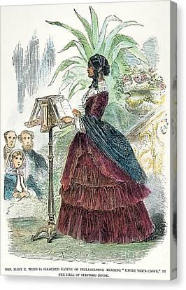 London: Freedwoman, 1856 Canvas Print by Granger