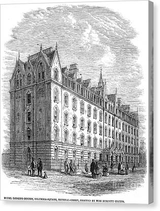 London: Lodging House Canvas Print by Granger