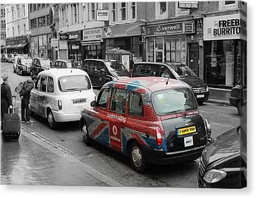 London Taxi  Canvas Print by Stefan Kuhn
