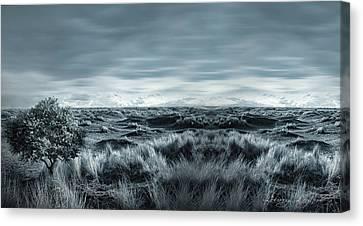 Lone Canvas Print by Lourry Legarde