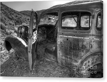 Long Forgotten Canvas Print by Bob Christopher