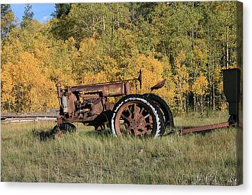 Long Retired Canvas Print by Mark Sacco