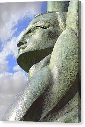 Look To The Sky - L Canvas Print by Mike McGlothlen