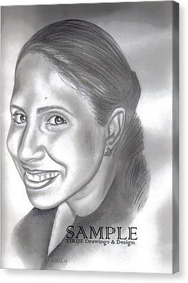 Lorna Villanueva Canvas Print by Rick Hill