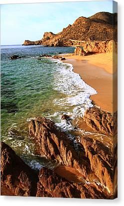 Los Cabos Coastal Landscape Canvas Print by Roupen  Baker
