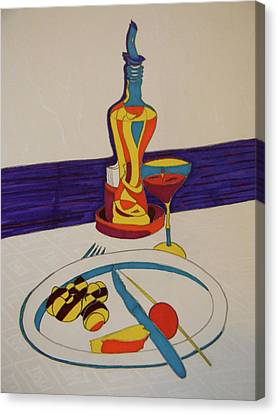 Los Caracoles Canvas Print by Marwan George Khoury