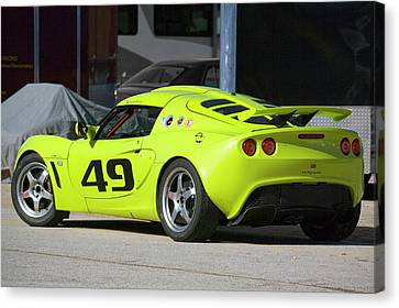 Lotus Exige Canvas Print by Alan Raasch
