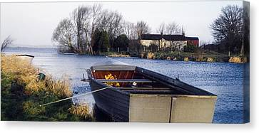 Lough Neagh, Co Antrim, Ireland Boat In Canvas Print by Sici