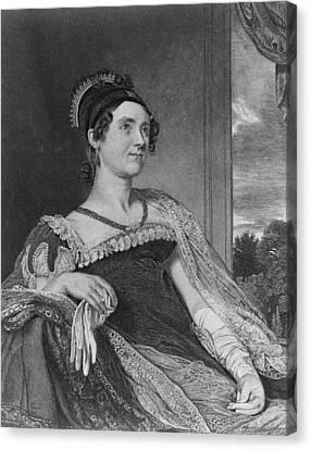 Louisa Catherine Adams Mrs. John Quincy Canvas Print by Everett