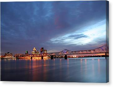 Louisville Kentucky Canvas Print by Darren Fisher