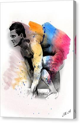 Love Colors - 2 Canvas Print by Mark Ashkenazi