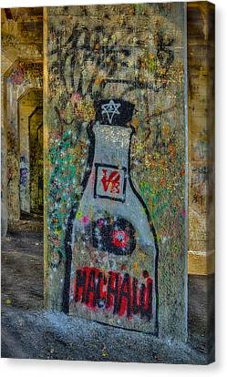 Love Graffiti Canvas Print by Susan Candelario