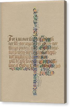 Love Of God Canvas Print by Judy Dodds