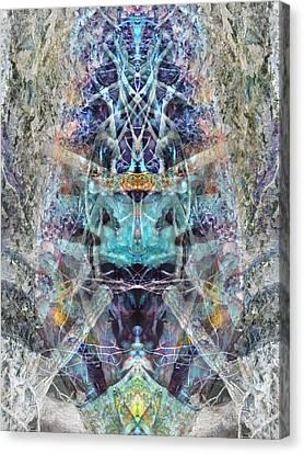Lovefest Canvas Print by Lynzi Wildheart