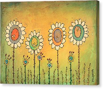 Loving Spring Canvas Print by Isa  Zapata
