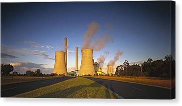 Loy Yang Power Station, Coal Burning Canvas Print by Jean-Marc La Roque